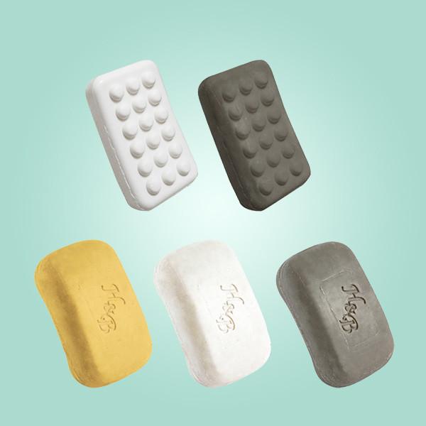 Натуральное Массажное мыло с солью Мертвого моря Health & Beauty (Хелс энд Бьюти) 125 гр