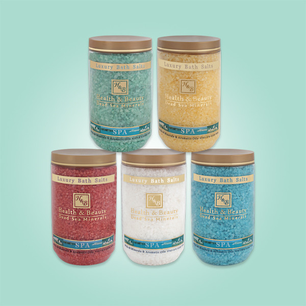Соль Мёртвого моря для ванны White Health & Beauty (Хэлс энд Бьюти) 1200 г