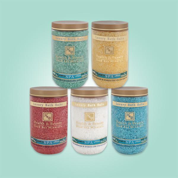 Соль Мёртвого моря для ванны Yellow Health & Beauty (Хэлс энд Бьюти) 1200 г