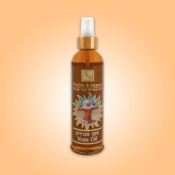 Ореховое масло для загара Health & Beauty (Хелс энд Бьюти) 250 мл