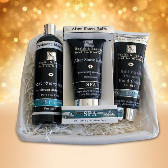 Подарочный набор для мужчин  Health & Beauty (Хелс энд Бьюти)  3 предмета (hb313, hb123, hb1206)