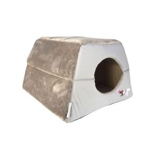 Мягкий домик-трансформер Rogz Влюбленные котики CATZ IGLOO для кошек 41х41х30см