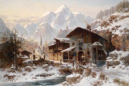Хэкер, Хорст - Смити зимой