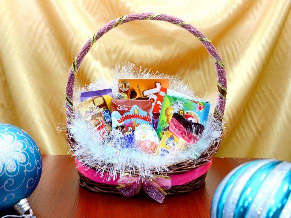 Детская корзинка для девочки