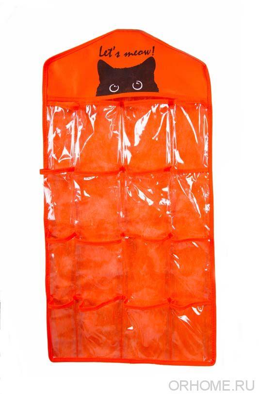 Подвесной органайзер, 16 карманов, 78*40 см