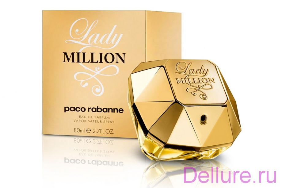 Версия Lady Million (Paco Rabanne)