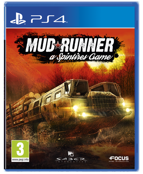 Игра Spintires : Mud Runner (PS4)