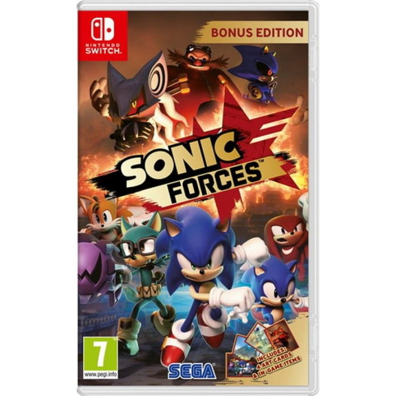 Игра Sonic Forces (Nintendo Switch)