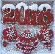 """Расписные пряники в наборах """"Новый Год"""" Подарки новогодние"""