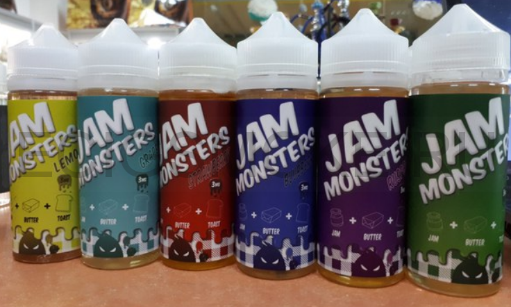 JAM MONSTERS 120 мл
