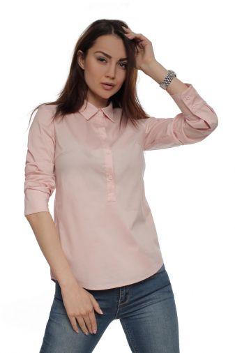 Рубашка 29616 Розовый