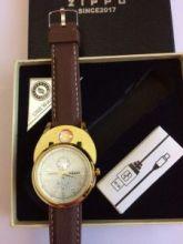 """Мужские часы """"ZIPPO"""" и беспламенная USB-зажигалка - 2 в 1"""