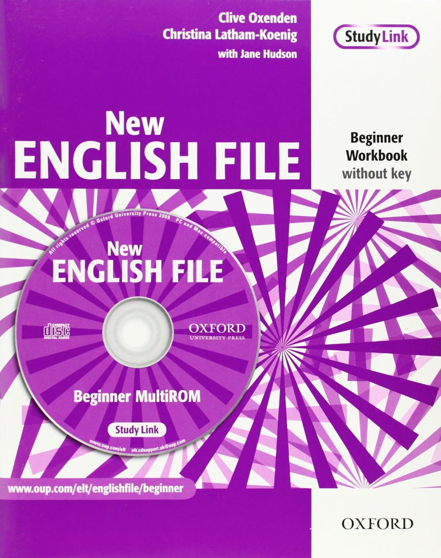 New English File Beginner Workbook with key