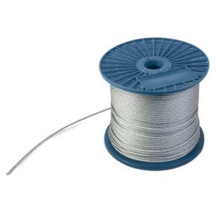 Трос стальной (DIN 3055) 2мм ПРОМ 200