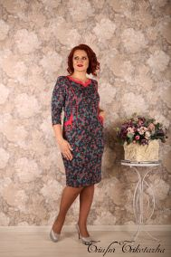 Платье Гранд (сольферино)