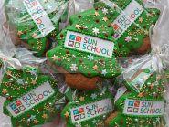 """Новогодние пряники с логотипом """"Ёлка"""" Корпоративные подарки на Новый Год"""