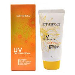 Deoproce Estheroce UV Daily Sun Cream SPF41 PA+++ 70g - солнцезащитный крем для ежедневного применения