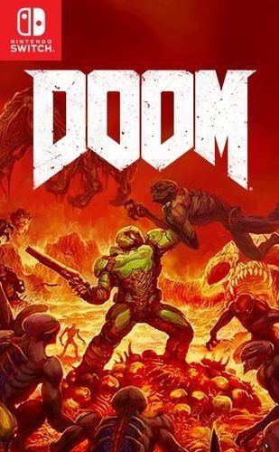 Игра Doom (Nintendo Switch, русская версия)