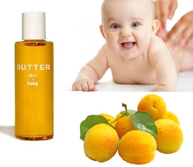 Детское массажное масло абрикосовое, 50 мл
