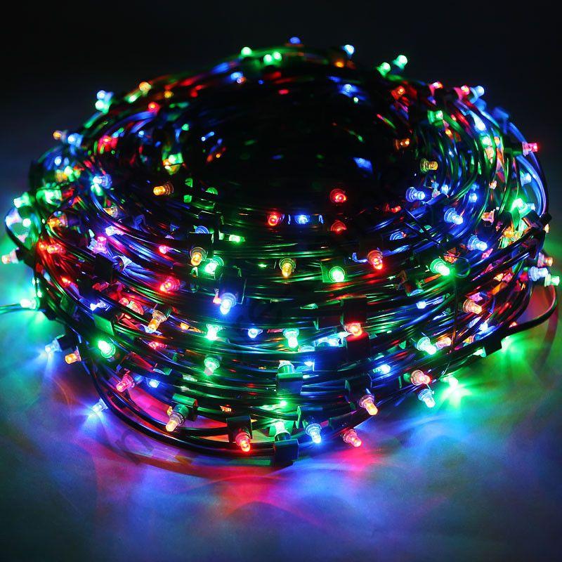 Новогодняя светодиодная гирлянда 400-500 LED.