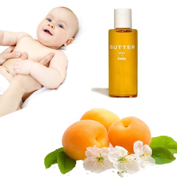 Детское масло для новорожденных абрикосовое, 25 мл