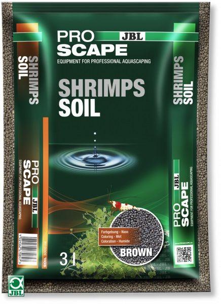 JBL ProScape ShrimpsSoil BROWN - Питательный грунт для аквариумов с креветками, коричневый, 3 л