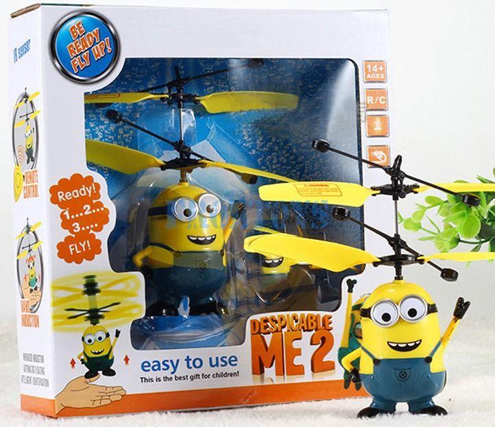 Игрушка «Летающий миньон» с пультом