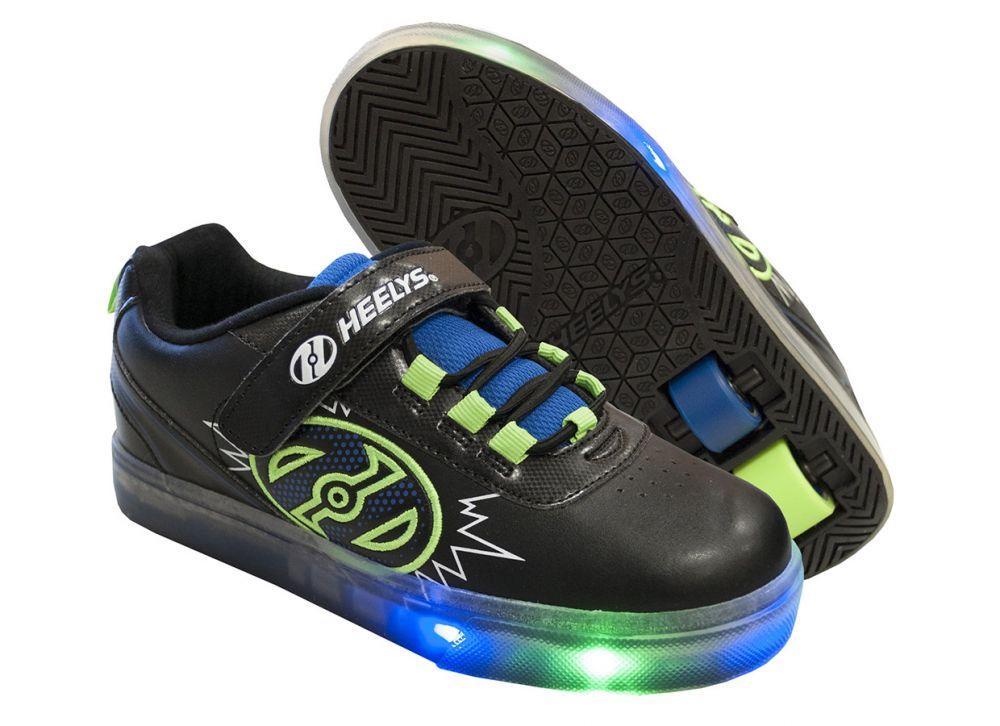 5c5f24952e0c61 Двухколесные роликовые кроссовки Heelys POW X2 LIGHTED HE100014