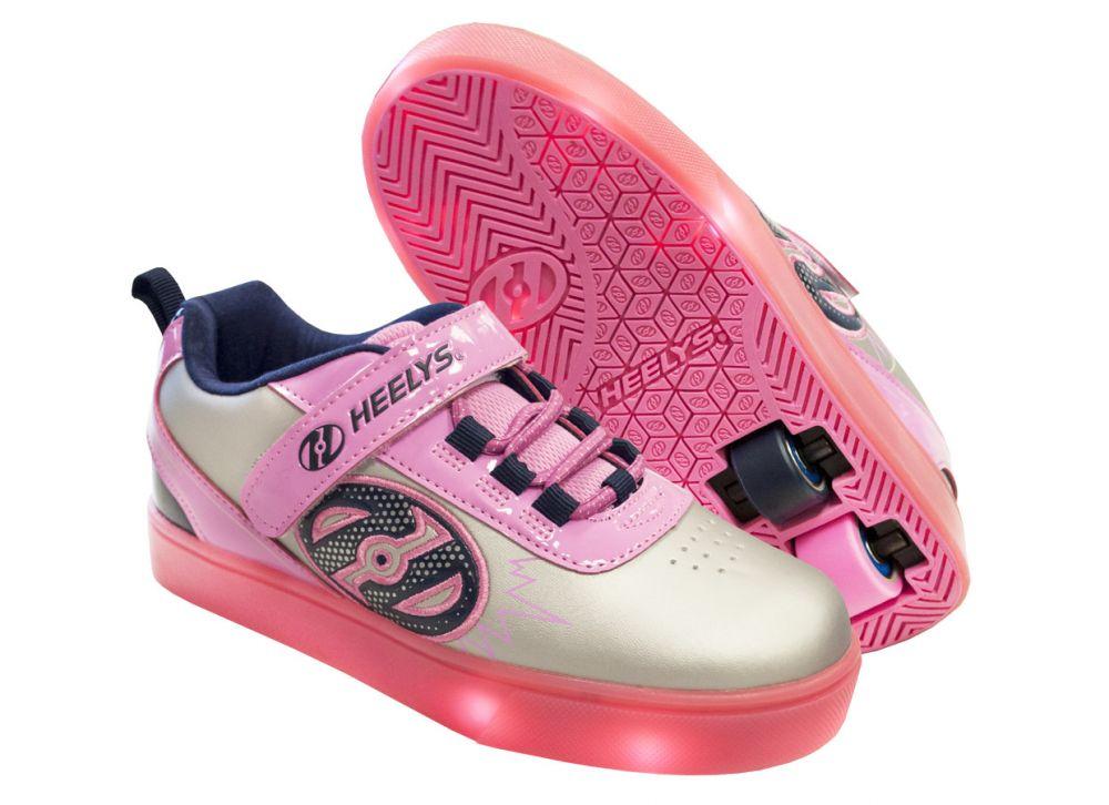 024bd8965fcac6 Двухколесные роликовые кроссовки Heelys POW X2 LIGHTED HE100017