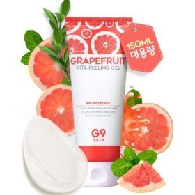 Berrisom G9 Grapefruit Vita Peeling Gel 150ml - пилинг гель для лица с экстрактом грейпфрута и витаминами