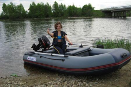 Надувная лодка ГРУПЕР — 330