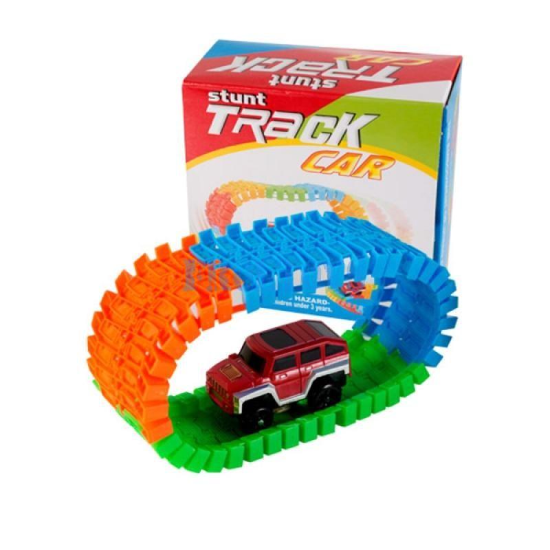 Гибкий трек Stunt Track Car (56 деталей)