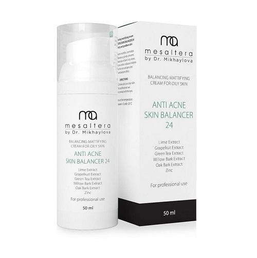 Mesaltera Anti Acne Skin Balancer 24 – Крем анти-акне балансирующий матирующий для жирной кожи