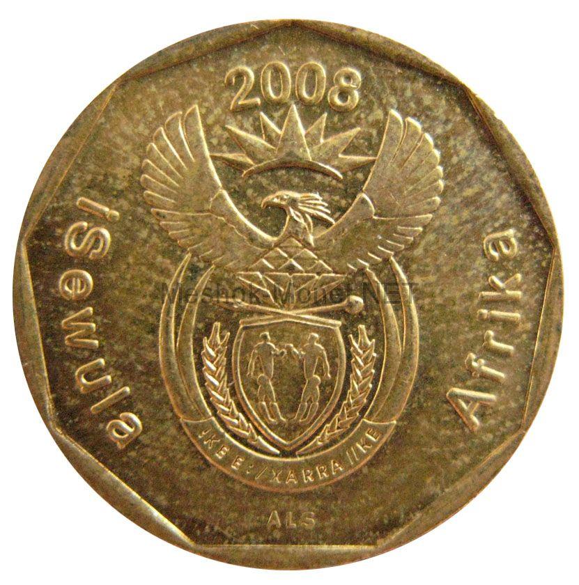 ЮАР 20 центов 2008 г.