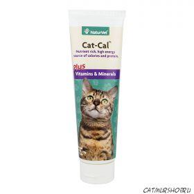 NaturVet Cat Cal Gel для кошек и котят - тюбик 141,7 гр.