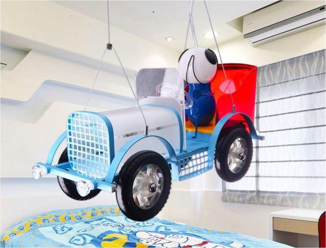 Светильник для детской Ретро автомобиль