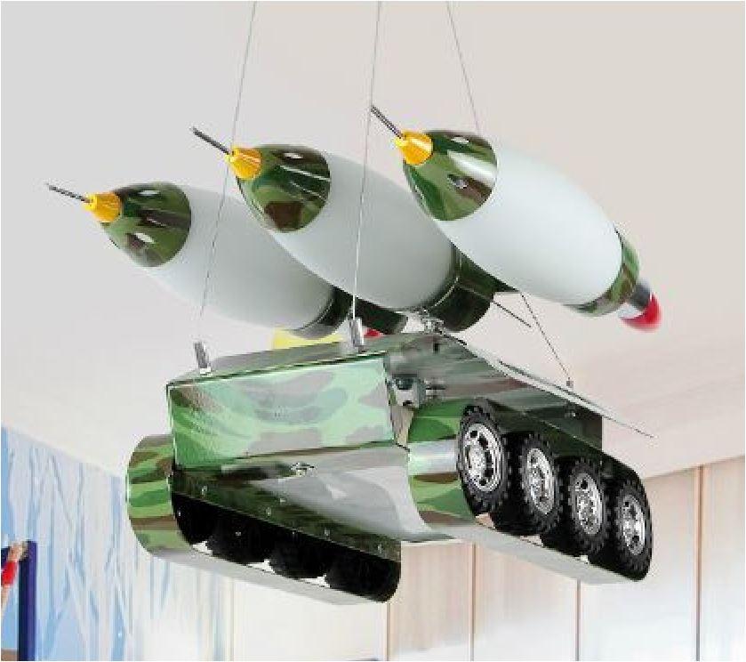 Светильник для детской комнаты Ракетная установка