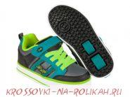 Роликовые кроссовки Heelys Bolt Plus X2 770563