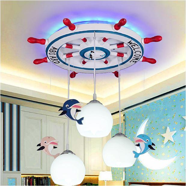Светильник для детской Дельфины