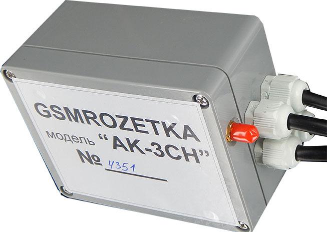 """GSM контроллер """"AK-3CH"""""""