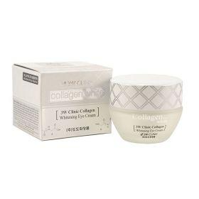 3W CLINIC Collagen Whitening Eye Cream 35ml - Крем для век осветляющий с коллагеном