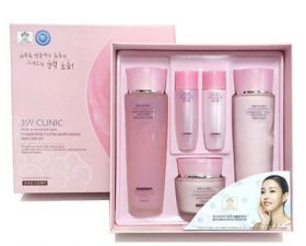 3W CLINIC FLOWER EFFECT EXTRA MOISTURIZING 3 KIT SET - Набор увлажняющий