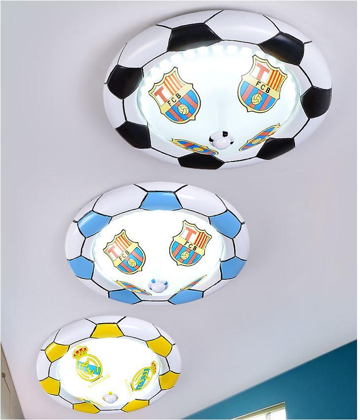 Светильник для детской Футбольный мяч