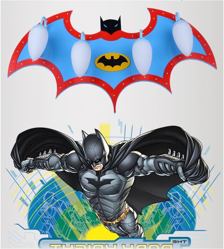 Светильник для детской Бэтмен 4