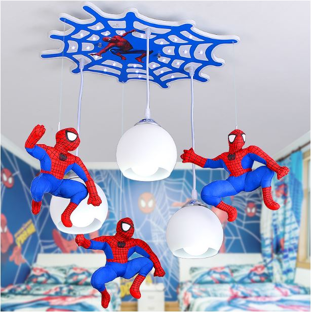 Светильник для детской Человек-паук