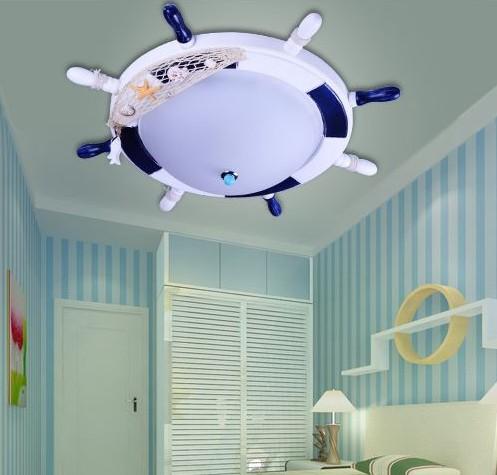 Светильник для детской Штурвал 1