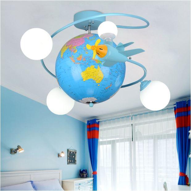 Светильник для детской Глобус
