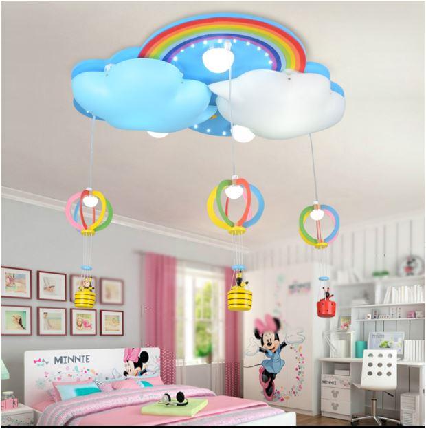 Светильник для детской Облака