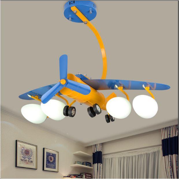 Светильник для детской Самолет