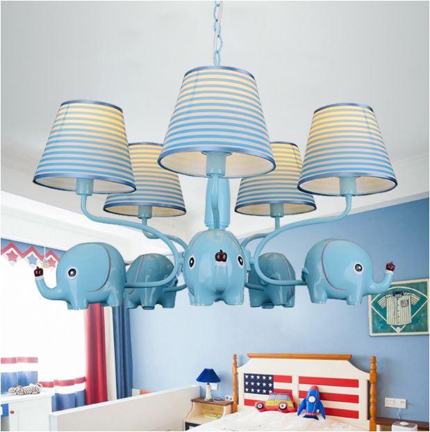 Светильник для детской Слоники